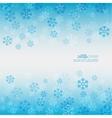 Gentle winter abstract background vector image vector image