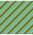 geometric pattern in spring colors vector image vector image