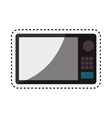 oven microwave isolated icon vector image