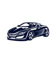 Sport automobile vector image vector image