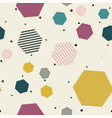 abstract geometric pattern memphis seamless vector image