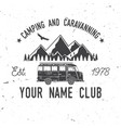 Camping and caravaning club