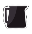 coffee teapot drink isolated icon vector image vector image