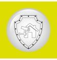 insurance concept design vector image vector image