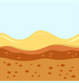 layers soil vector image