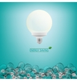 Lighting bulbs vector image