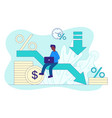 loan reduction abstract concept vector image