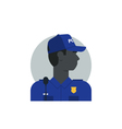 People policeman 4 vector image vector image