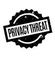 Privacy threat rubber stamp