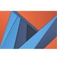 unusual modern material design vector image vector image