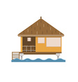 Bungalow House Building vector image