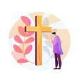 christian event abstract concept vector image vector image