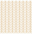 classic herringbone gold and white simple seamless vector image