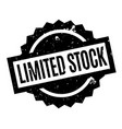 Limited stock rubber stamp