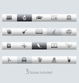 Education Classic Bar Series vector image