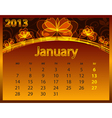 2013 calendar year