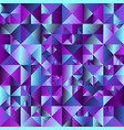 abstract geometrical polygonal triangle vector image vector image
