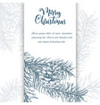 christmas sketch hand drawn vector image vector image