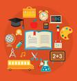 education concept trendy vector image