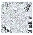 Effect of Termite Damage Word Cloud Concept vector image vector image
