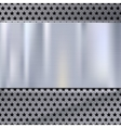 Metal plate over grate texture stainless steel