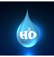 Pure Clear Realistic Water vector image vector image