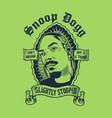 snoop dog vector image