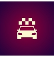 Taxi icon Flat vector image vector image