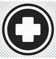 medical health icon medicine hospital plus sign vector image vector image