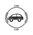 car icon pictogram vector image