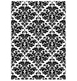 Damask print vector image vector image