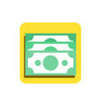 flat business icon vector image vector image