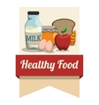 Food and Menu icons design vector image vector image