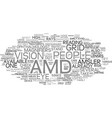 for those people who already have amd text vector image vector image