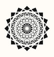 sacred geometry 0085 vector image vector image