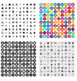 100 school activities icons set variant vector image vector image