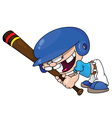 Baseball boy vector | Price: 1 Credit (USD $1)
