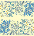 botanicals pattern set of herbs background vector image