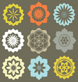 Floral esoteric elements vector | Price: 1 Credit (USD $1)