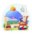 nursery wall art for kids vector image