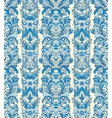 Royal striped seamless pattern Rococo floral vector image vector image