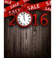 Sale 2016 background vector image