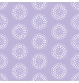Seamless pattern with concentric circles made from vector image vector image