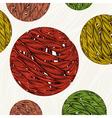 Vintage floral background Element for design vector image vector image