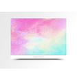 card-pink-blue vector image vector image