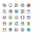 Electronic Cool Icons 3 vector image vector image
