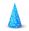 Hat for party vector image vector image