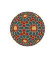 hexagonal 3d sphere with islamic tessellation
