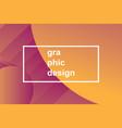 modern trendy background vector image vector image