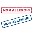 Non Allergic Rubber Stamps vector image vector image